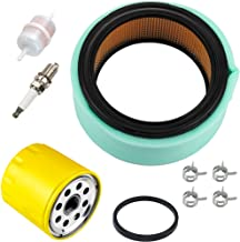 Harbot 24 083 03-S Air Filter + 52 050 02-S Oil Filter Tune Up Kit for Kohler CH18 CH20 CH22 CH25 CH23 CH730 CH740 CH640 CH680 ECH749 ECH730 CV730 CV23 CV25 18HP-25HP OHV Engine John Deere Lawn Mower