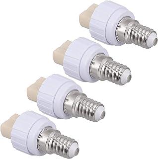 FRCOLOR 4pcs E14 to G9 Base Screw Lamp Holder LED Light Lamp Bulb Adapter Light Bulb Converter Adapter シ 100V- 220V シ