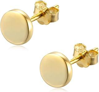 small dot bar earrings gold textured bar studs 14kt gold three dot  bar earrings 14kt gold-filled small dot bar stud earrings