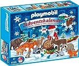 Playmobil Calendario dell'Avvento Babbo Natale nutre gli animali