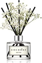 Cocod'or Preserved Real Flower Reed Diffuser, April Fresh Reed Diffuser, Reed Diffuser Set, Oil Diffuser & Reed Diffuser Sticks, Home Decor & Office Decor, Fragrance and Gifts, 6.7oz