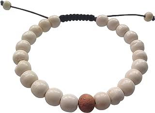 Hands Of Tibet Tibetan Mala Yak Bone Wrist Mala Bracelet for Meditation