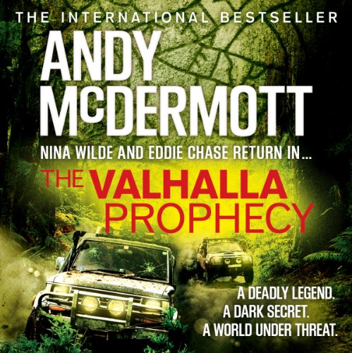 The Valhalla Prophecy audiobook cover art
