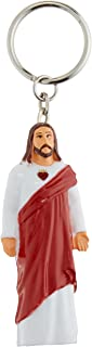 Jesus Christ Keychain with LED flashlight
