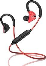 Edifier W296BT Bluetooth 4.1 Auriculares in-ear deportivos resistentes al sudor y al agua, con supresión de ruido CVC y soporte multipunto, color rojo