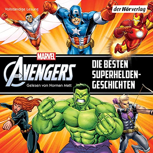 Marvel Avengers - Die besten Superheldengeschichten Titelbild