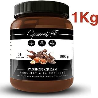 Crema de Cacao y Avellanas Hiperproteica sin Azucares ni