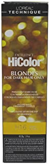Loreal Excel Hicolor H16 Tube Honey Blonde 1.74oz (3 Pack)