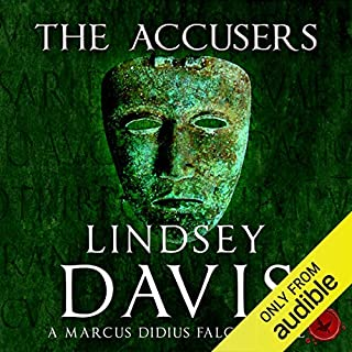 The Accusers     Marcus Didius Falco, Book 15              By:                                                                                                                                 Lindsey Davis                               Narrated by:                                                                                                                                 Jamie Glover                      Length: 10 hrs and 1 min     148 ratings     Overall 4.2