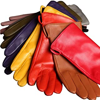 Best lambskin cashmere lined gloves Reviews