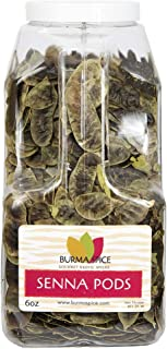 Senna Pods | Natural Dried Herb | Senna Tea | Whole Senna Pods 6 oz.
