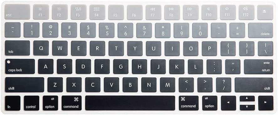 WYGCH Ombre Gray Keyboard Cover Skin Magic Challenge the lowest price for Wireless Mail order cheap