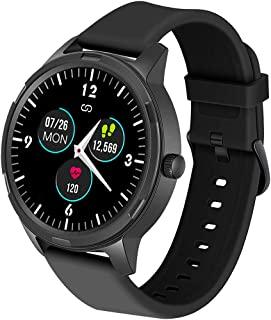 WAFA Smart Watch, 5ATM Waterproof Fitness Tracker Watch with Heart Rate Monitor, IPS Touch Screen GPS Activity Tracker Wat...