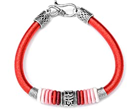 N/A Sieraden S925 zilver zes-karakter mantra handgeweven armband mannen en vrouwen dragen modieuze all-match armbanden Moe...