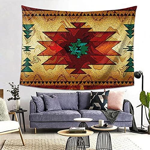 ZORIN Tapices decorativos para colgar en la pared, 156,8 x 202,8 cm, diseño tribal de indio, indio, para dormitorio, decoración de pared
