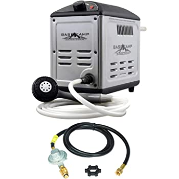 Mr. Heater BaseCamp BOSS-XB13 Battery Operated Shower System w/Extra 12Ft Hose