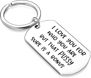 Funny Gifts Boyfriend Gifts From Girlfriend Gifts For her Couples Gifts Keychain Husband Gifts From Wife Christmas Gifts