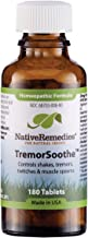 Native Remedies TremorSoothe - Natural Homeopathic Formula to Temporarily Control Shakes, Tremors, Muscle Spasms and Twitches -180 Tablets