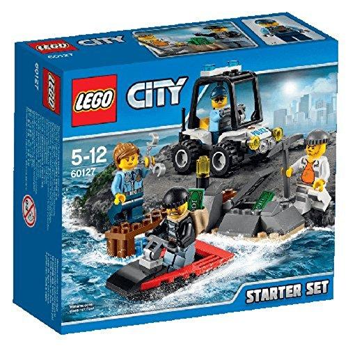 LEGO City 60127 - Gefängnisinsel-Polizei Starter-Set