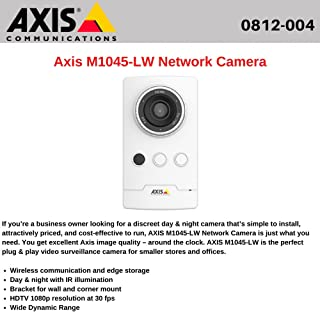 AXIS M1065-LW Network Camera 0810-004 AXIS COMMUNICATION INC.