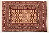 Teppichprinz Mushwani Kilim 190x130 cm Killim Alfombra Oriental Tejido a Mano Afganistán Carpet Manta