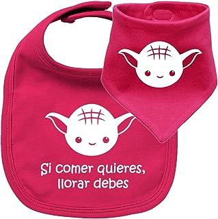 Amazon.es: Bebe Friki - Baberos / Lactancia y alimentación: Bebé