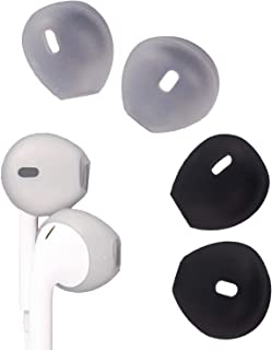 EKIND 4 Pieces Silicone Cover Tips For iPhone Earpods Replacement Ear Gels Buds Anti-slip Silicone Soft Sport Earbud Tips ...