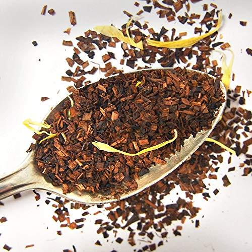 Plum Deluxe Honeybush Vanilla Cream Relaxing Herbal Tea (Honeybush Vanilla) Loose Leaf Premium Tea Made in the USA (15+ Cups from 1 Oz. Pouch)
