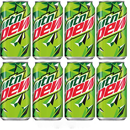 Mountain Dew Original 12 Oz Cans, Pack of 8