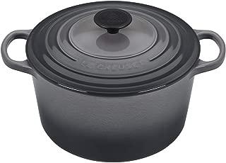 Le Creuset of America L2595-247F Enameled Cast Iron Dutch Oven, 5.25 qt, Oyster