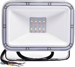 RGB Flood Light Memory Function Spotlights IP66 Waterproof Floodlights 16 Colors 4 Modes Halloween Decoration Security Lig...
