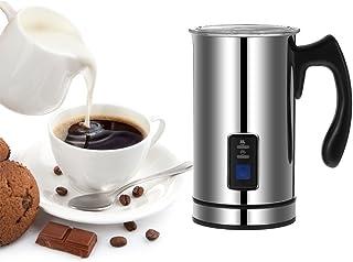 Homgeek Stainless Steel Automatic Electric Milk Frother Foamer Frothing & Heating Milk Warmer Foam Maker Latte Cappuccino ...