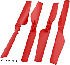 Parrot AR.Drone 2.0 * 4 GENUINE POWER EDITION RED PROPELLERS * Motor Blade Rotor