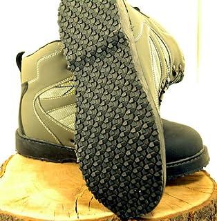 Botas de vadeo con suela de fieltro o suela de goma
