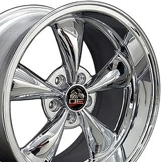 OE Wheels 18 Inch Fits Ford Mustang 1994-2004 Bullitt Style FR01 Chrome 18x10 Rim Hollander 3448