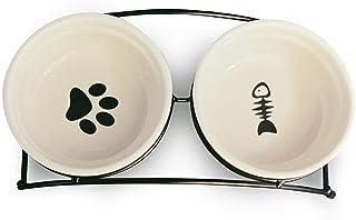 ظروف مخصوص غذای حیوانات خانگی MushroomCat Pet Feeder Cute Cute Feeder
