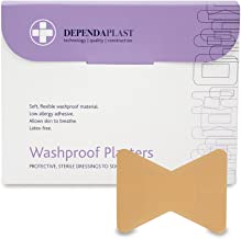 Reliance Medical Dependaplast REL538 Washproof Plaster, Fingertip (Pack of 50)