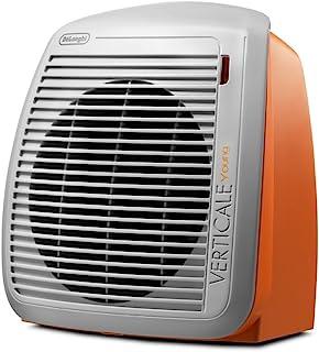 De'Longhi HVY1020.O - Calefactor eléctrico, 2000 W, acero inoxidable/plástico, naranja