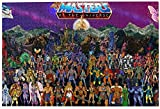 Rompecabezas Puzzles 1000 Pieces He-Man and The Masters of The Universe Picture Puzzle DIY Large Puzzle Game Artwork for Adults Teens