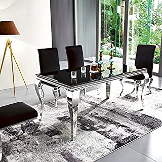 Table à Manger Design Ema - Noir