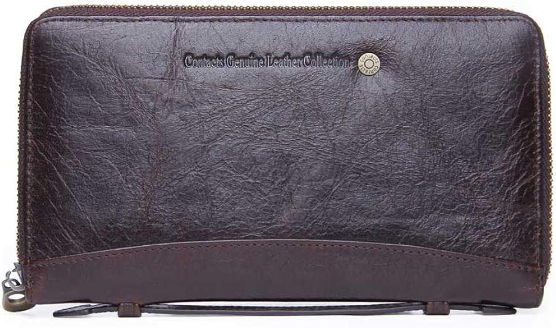 DOUBLEL DOUBLEL DOUBLEL Damenwallet Leder mit Zipper Long Clutch Bag Multi-Funktion Münzbeete B07KXPYBM4 2d9443