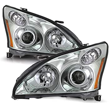 Amazon Com For 2004 2005 2006 Lexus Rx330 Oe Replacement Projector Headlight Japan Build Hid Xenon Model Only Automotive