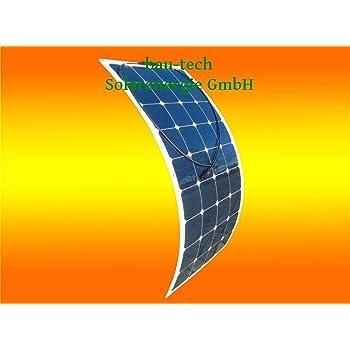 Wohnmobil und Camping 50Watt 12Volt flexibles Solarmodul mono für Boot