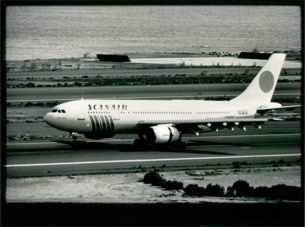 Cheap super Free shipping on posting reviews special price Vintage photo of Airbus A300 Scanair