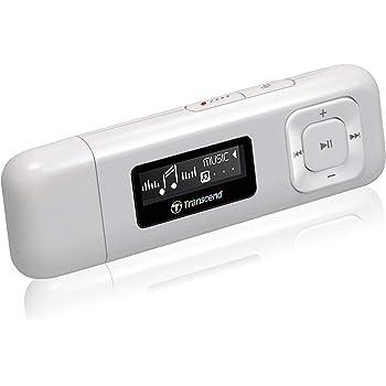 Transcend MP3プレーヤー MP330 8GB ホワイト TS8GMP330W