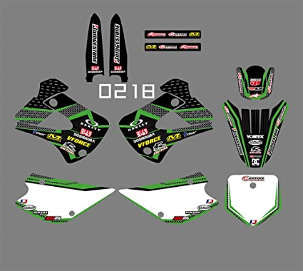 Dst0023 Aufkleber Für Kawasaki Kx85 Kx100 1998 2013 Dst0023 Dst0023 Auto