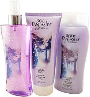 Body Fantasies Twilight Mist 3 Piece Gift Set for Women