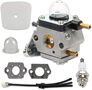 Echo TC-210 TC-210i TC-2100 with Air Filter Repower Kit Hayskill C1U-K54A Carburetor for 2-Cycle Mantis 7222 7222E 7222M 7225 7230 7234 7240 7920 7924 Tiller//Cultivator Carb