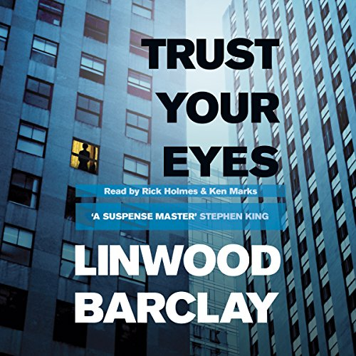 Trust Your Eyes audiobook cover art