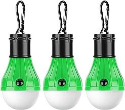 PemoTech Tentverlichting, 3 stuks, draagbare ledlampen, met lantaarns voor noodgevallen, voor thuis, camping, vissen, wand...